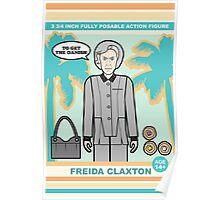 Freida Claxton Poster
