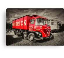 Foden S21A    Canvas Print