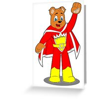 Superted Greeting Card