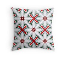 Christmas Candy Canes_1 Throw Pillow