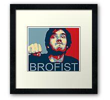 Pewdiepie Brofist Framed Print