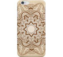 Ornamental round pattern iPhone Case/Skin