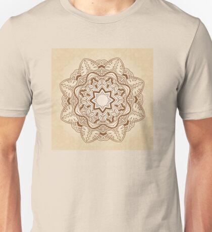 Ornamental round pattern Unisex T-Shirt