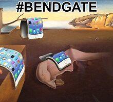 Salvador Dali iPhone6 #BENDGATE by JOlorful