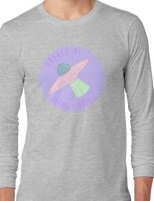 Abduct Me Aliens < Gods Long Sleeve T-Shirt