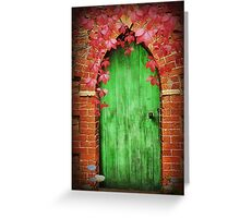To The Secret Garden Greeting Card