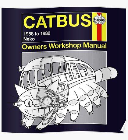 Catbus Manual Poster