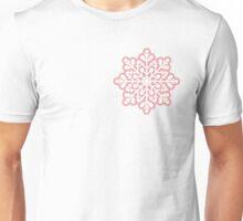 Pink snowflake Unisex T-Shirt