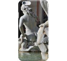 Roman Beauty in Piazza Navona iPhone Case/Skin