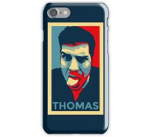 Thomas Profile Picture - Shepard Fairey Obama Hope Style iPhone Case/Skin