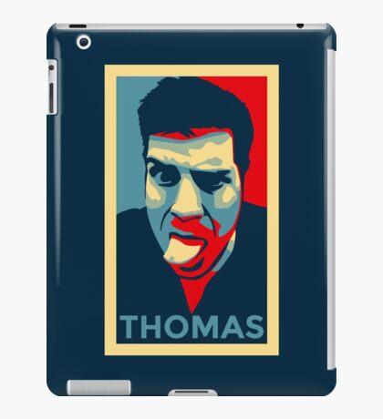 Thomas Profile Picture - Shepard Fairey Obama Hope Style iPad Case/Skin