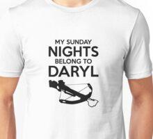 My Sunday Nights Belong to Daryl Unisex T-Shirt