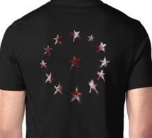 Stars of the American Commonwealth bloodied Unisex T-Shirt