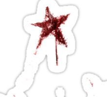 Stars of the American Commonwealth bloodied Sticker