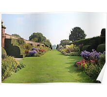 Arley Hall Walled Garden Poster