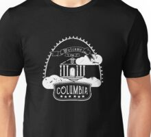 Welcome to Columbia (White) Unisex T-Shirt