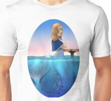 Silver mermaid Unisex T-Shirt