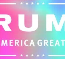 Holographic Trump Logo Sticker