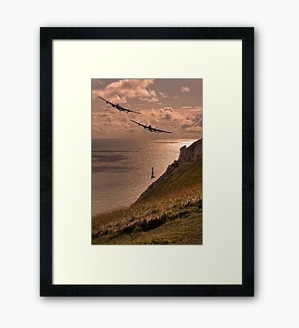 Lancaster Sunset Framed Print