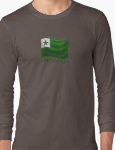 Esperanto Flag Long Sleeve T-Shirt