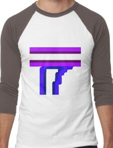 Tube Colors #4.13 NO BACKGROUND Men's Baseball ¾ T-Shirt