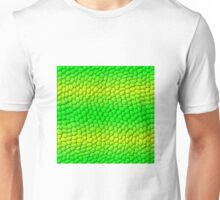 Scales Gradient - Green | Lime Yellow | Black Unisex T-Shirt