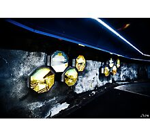 Timepiece Tunnel Photographic Print