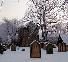Churchyard In Winter by Francis Drake