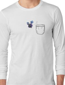 Nebby in pocket! (Out) Long Sleeve T-Shirt