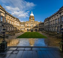 The Old College by Beautiful Edinburgh