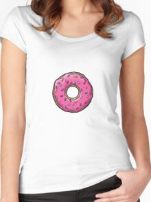Mmmm...Sprinkles! Women's Fitted Scoop T-Shirt