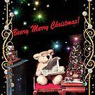 Beary Merry Christmas! by Nadya Johnson