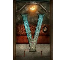 Steampunk - Alphabet - V is for Victorian Photographic Print