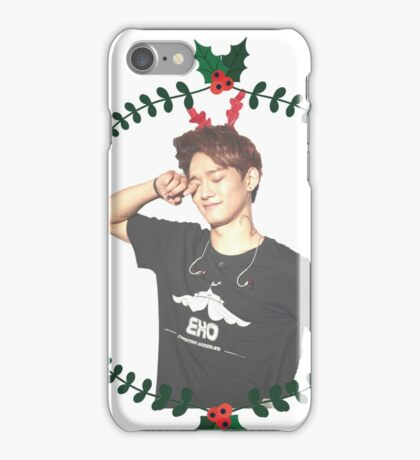 Chen Christmas -  exo iPhone Case/Skin