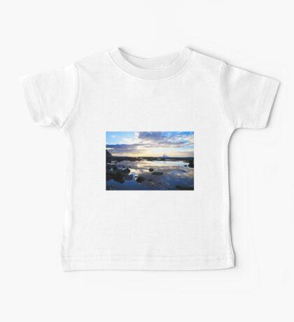 Susan Gilmore Beach Sunrise Baby Tee