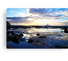 Susan Gilmore Beach Sunrise Canvas Print
