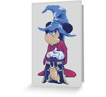 Mickey - The Sorting Hat's Apprentice Greeting Card