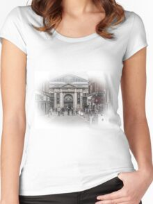 Bolton Market Place Women's Fitted Scoop T-Shirt