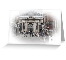 Bolton Market Place Greeting Card