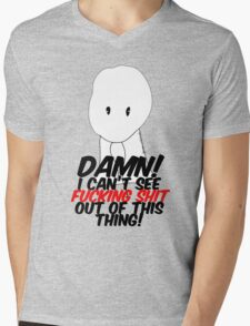 DJANGO UNCHAINED I can't see FUCKING SHIT out of this thing Mens V-Neck T-Shirt