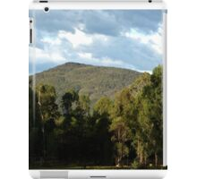 Clouds, Mountains, Trees, Shadows iPad Case/Skin