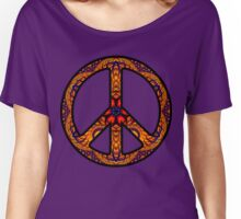 Peace Sign - 1639 Women's Relaxed Fit T-Shirt