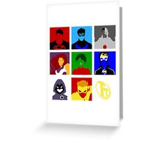 Titans GO!! Greeting Card