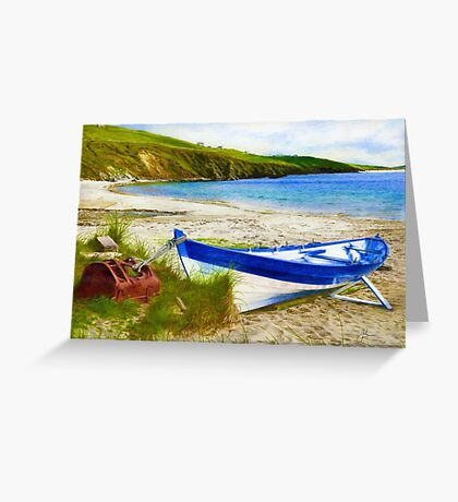 Shetland Ness Yoal 'Vada' Greeting Card
