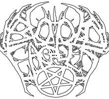 Blood Eagles Logo (White) by iddqd87