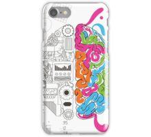 Creative Brain Chemistry iPhone Case/Skin