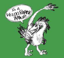 Velociraptor, Rawr by PosterScience