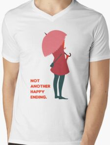 Not Another Happy Ending Mens V-Neck T-Shirt