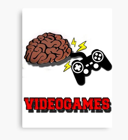 VIDEOGAMES T-SHIRT Canvas Print