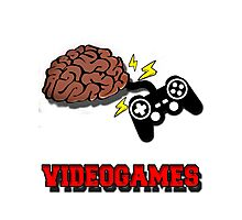 VIDEOGAMES T-SHIRT Photographic Print